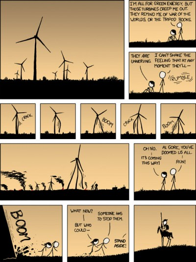 Alternative Energy Revolution | XKCD